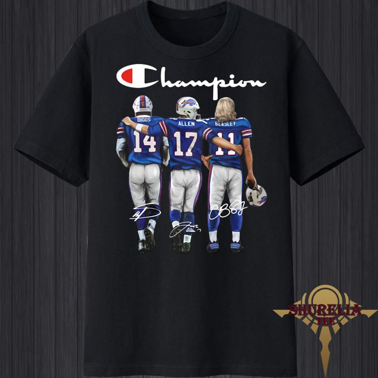 Diggs Allen And Beasley Signatures Champion Shirt
